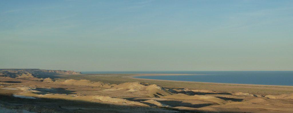 43 Aral Sea From Ustyurt Plateau 1024x397, Topstartour.com