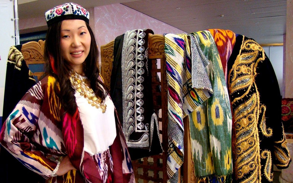 Uzbek National Dress